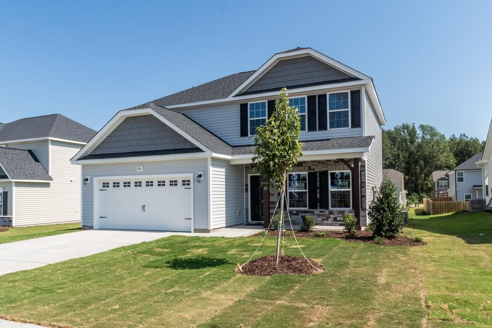 Winterville, NC New Home Elevation B