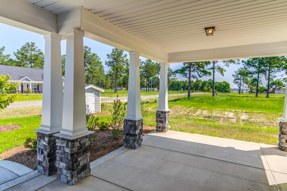 2,563sf New Home in Sneads Ferry, NC Extended Front Porch