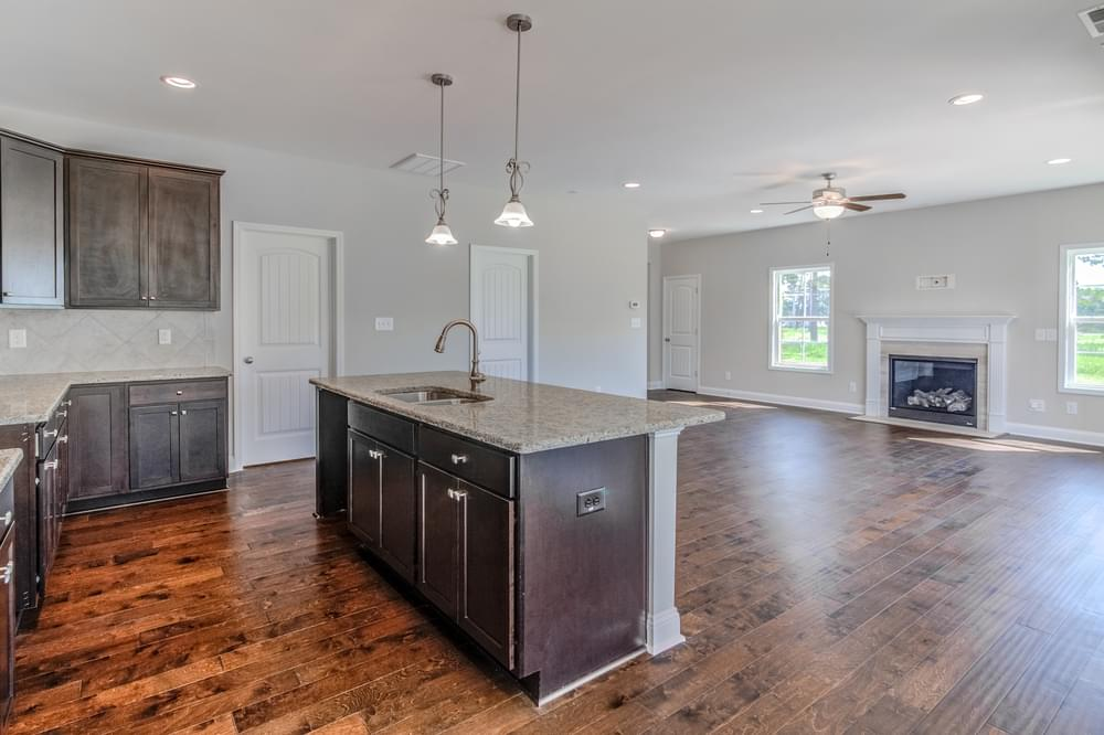 Bradley New Home in Sneads Ferry, NC Caviness & Cates Communities