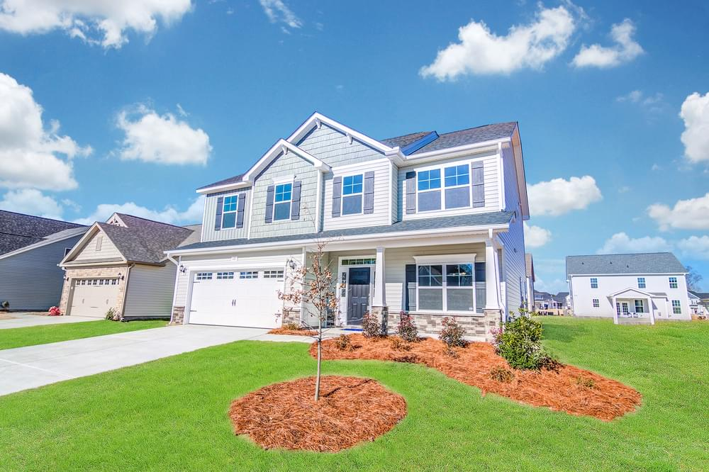 Drayton New Home in Winterville, NC Caviness & Cates Communities