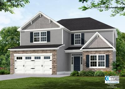 The Aberdeen New Home in Clayton NC
