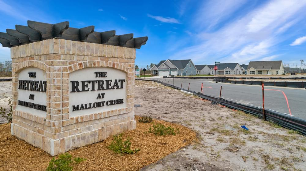 The Retreat at Mallory Creek New Homes in Winnabow, NC Caviness & Cates Communities