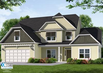 The Beaufort New Home in Wake Forest NC
