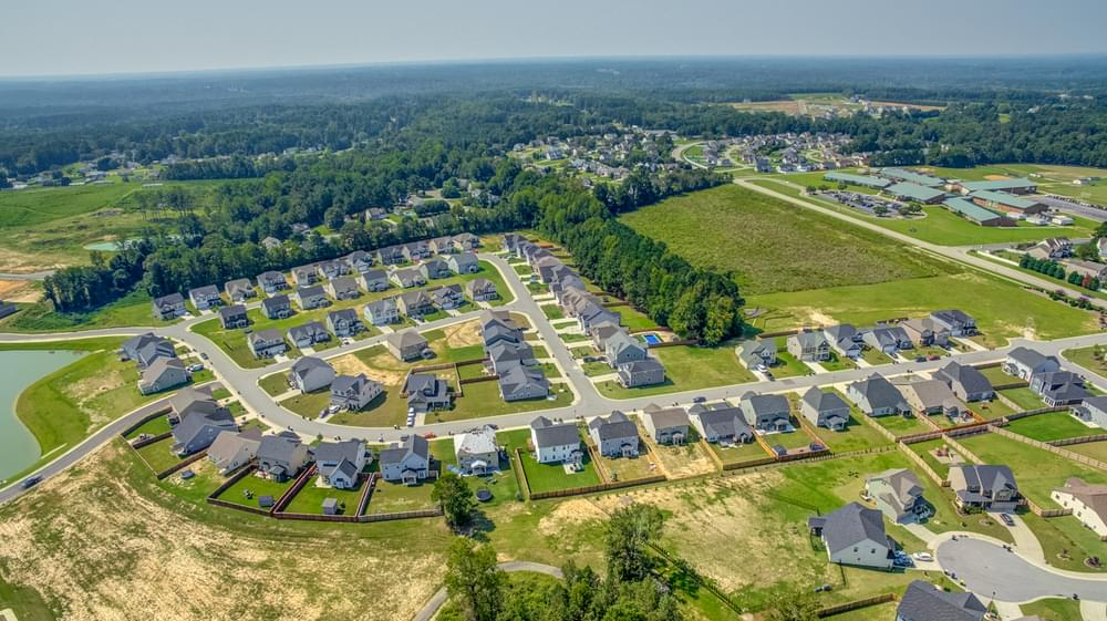 Cleveland Bluffs New Homes in Clayton, NC Caviness & Cates Communities