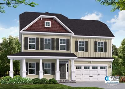The Glenwood New Home in Clayton NC