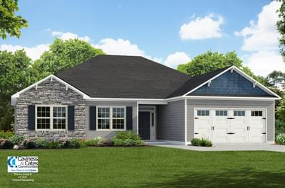 The Ivy Creek New Home in Grimesland NC
