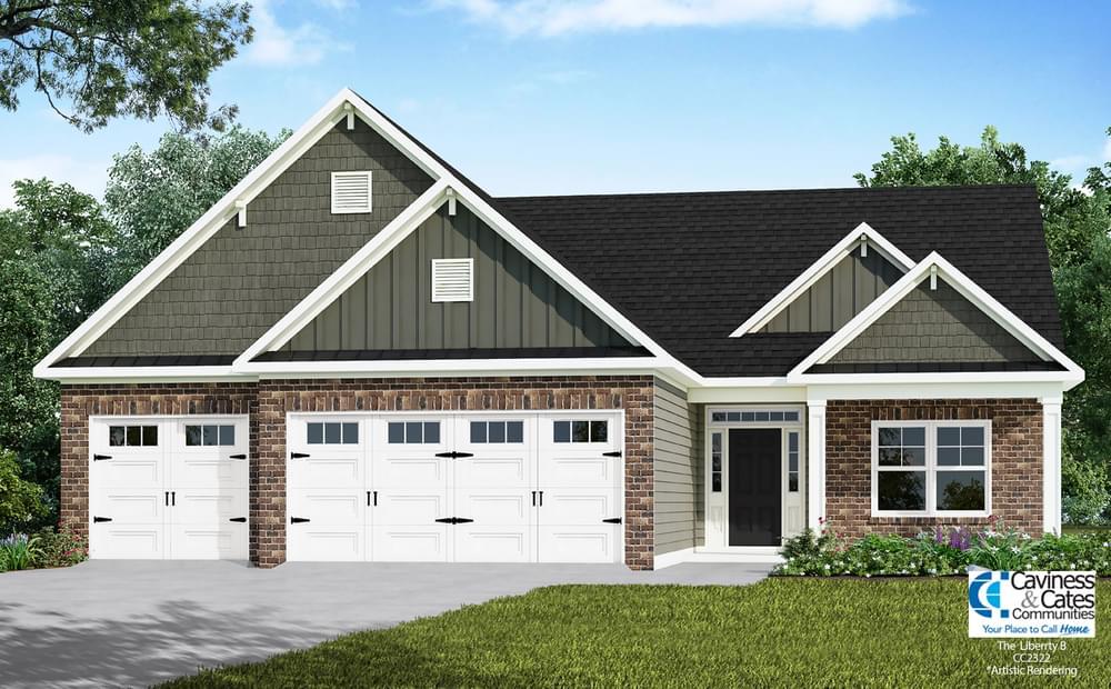 105 Country Ridge Lane, Carthage, NC 28327 Elevation B