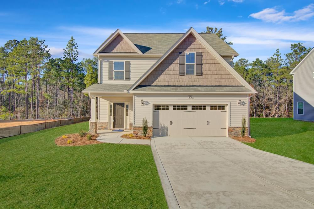 Peartree West New Homes in Fayetteville, NC Caviness & Cates Communities