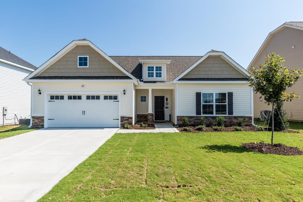 2,432sf New Home in Grimesland, NC Caviness & Cates Communities