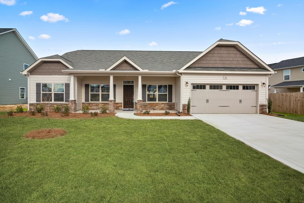 Bladen New Home in Sneads Ferry, NC Caviness & Cates Communities