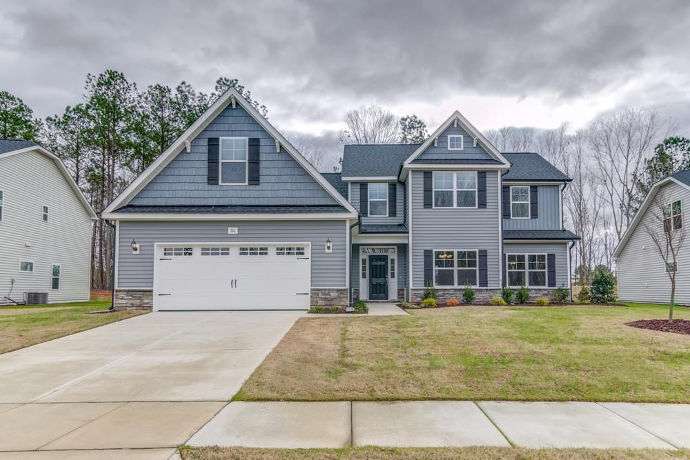 2,964sf New Home in Winterville, NC Elevation C