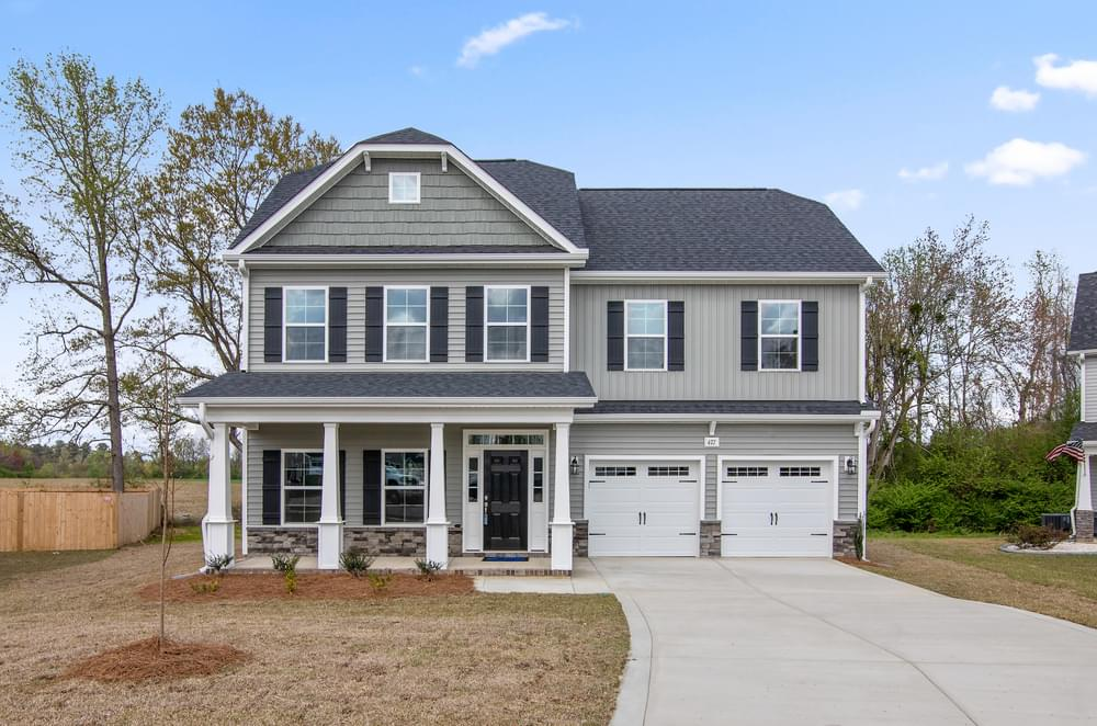 3,060sf New Home in Wilmington, NC Elevation C