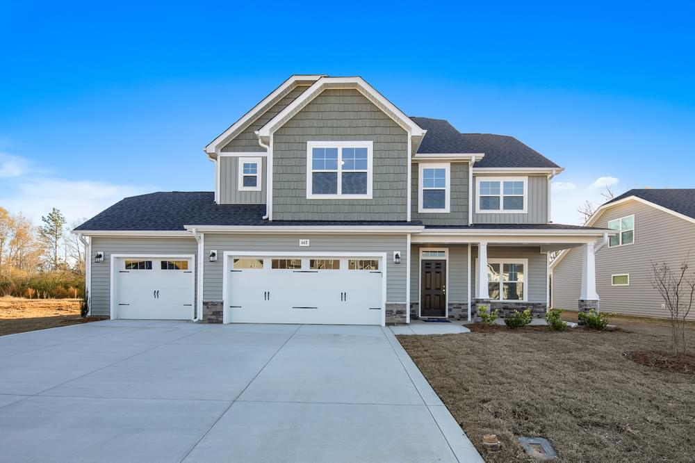 4br New Home in Raeford, NC Caviness & Cates Communities