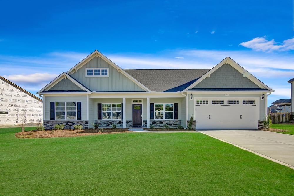 5br New Home in Hope Mills, NC Elevation D