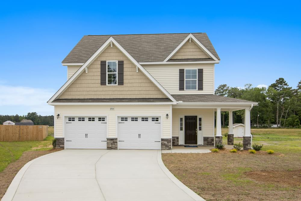 Bailey New Home in Rocky Point, NC Caviness & Cates Communities