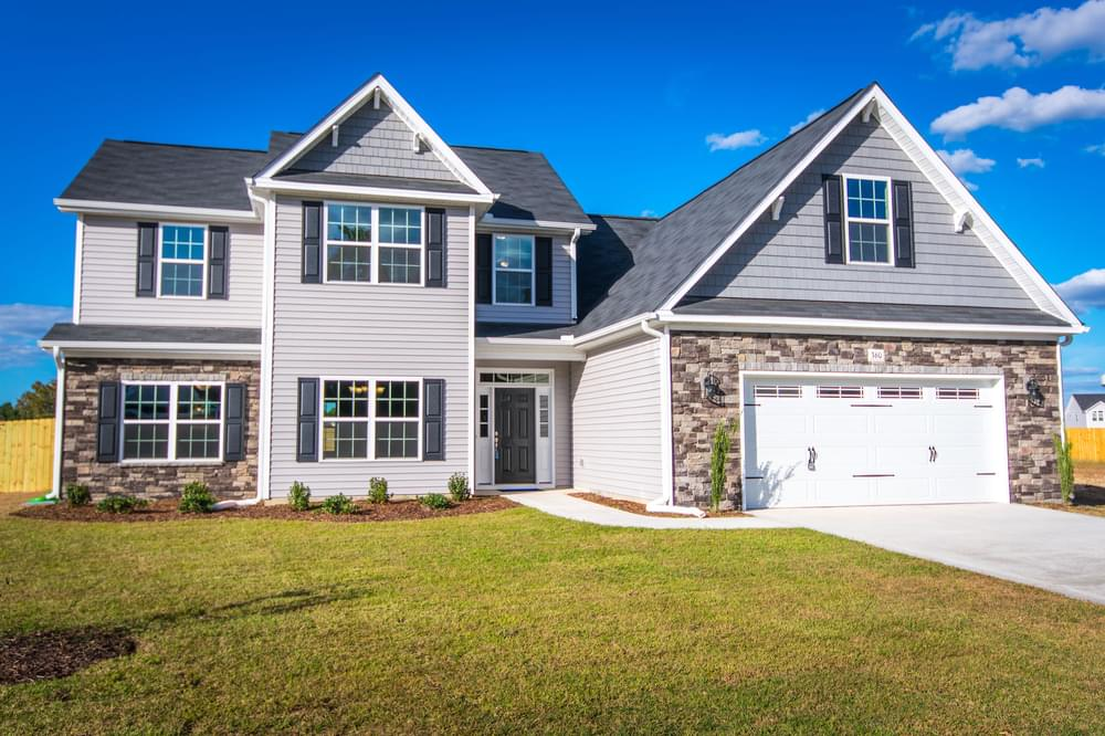 5br New Home in Winterville, NC Elevation D