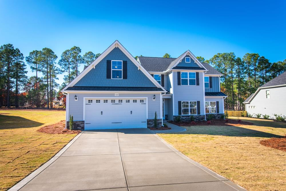 Oakwinds New Home in Winterville, NC Elevation C