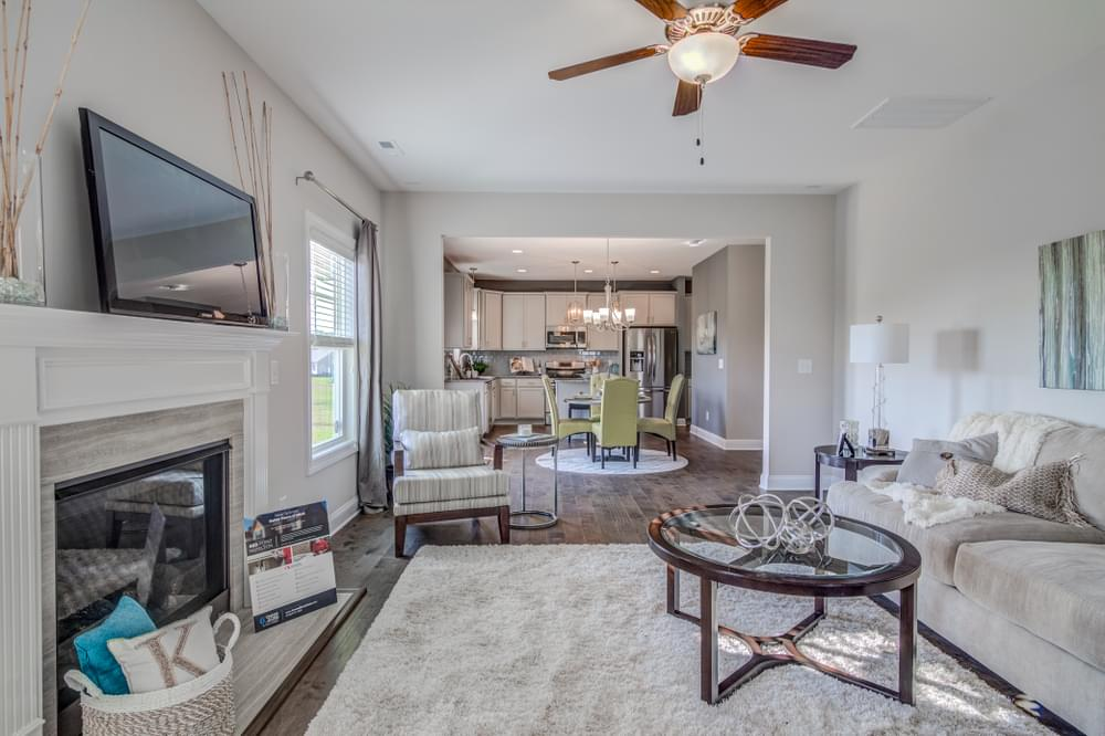Brunswick New Home in Greenville, NC Caviness & Cates Communities