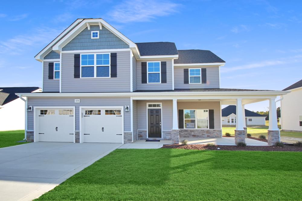 New Homes in Grimesland, NC Caviness & Cates Communities