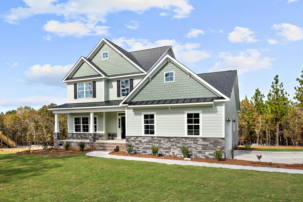 Page New Home in Sneads Ferry, NC Caviness & Cates Communities
