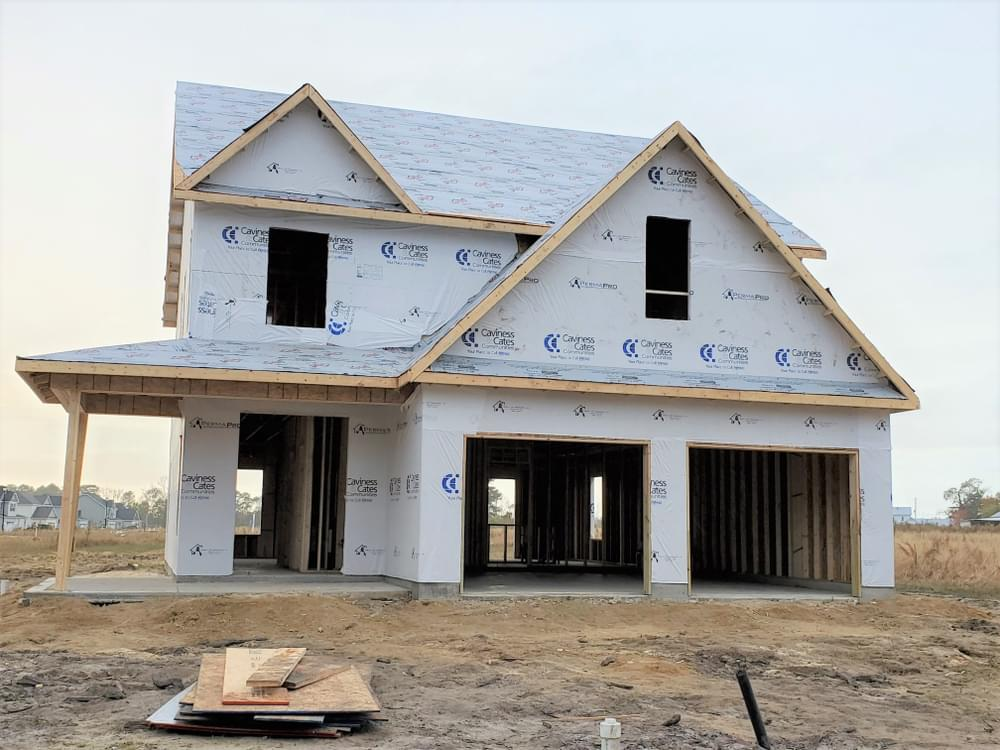 2,424sf New Home in Winterville, NC Caviness & Cates Communities