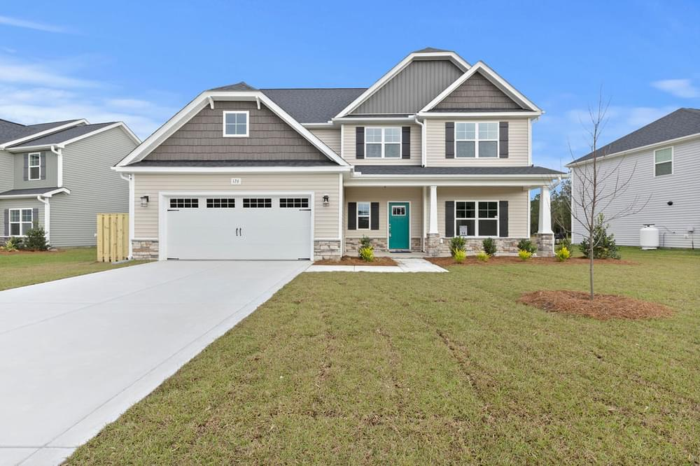 New Home in Winterville, NC Elevation C