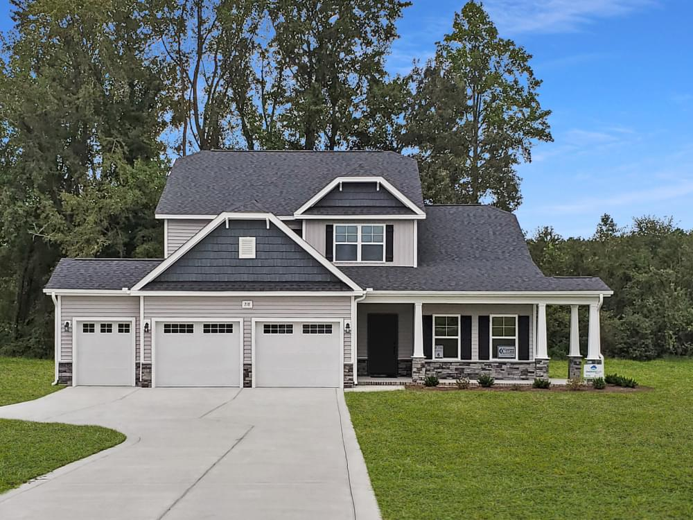 Greenville, NC New Homes Caviness & Cates Communities