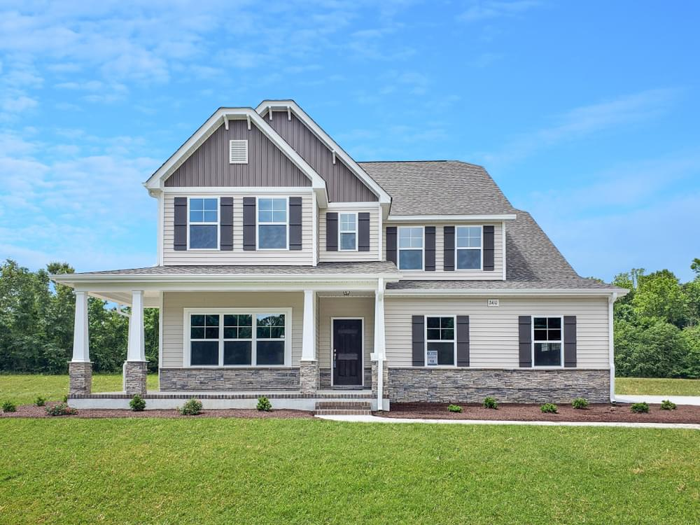 Three Oaks New Homes in Greenville, NC Caviness & Cates Communities