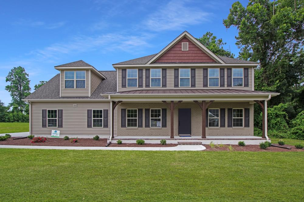 New Homes in Greenville, NC Caviness & Cates Communities