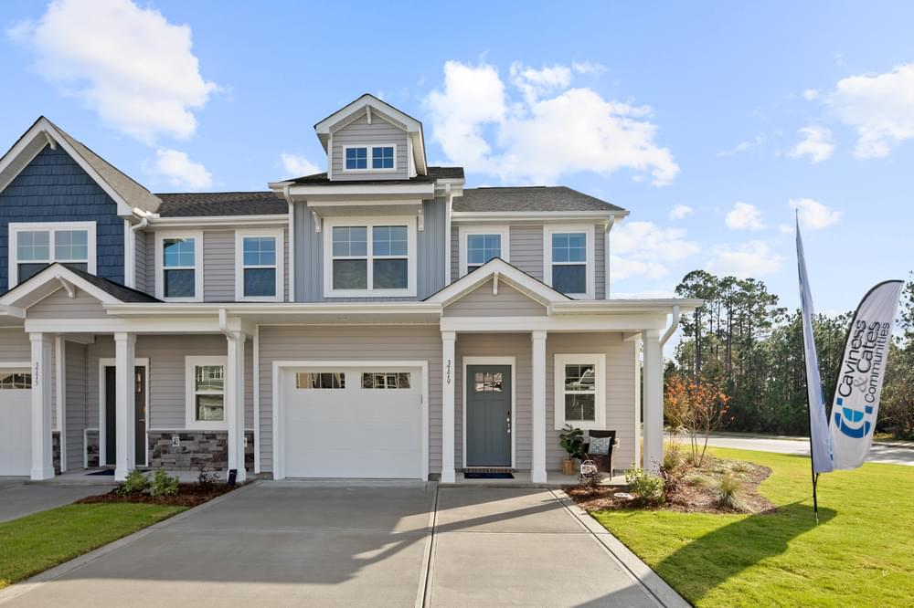 New Home in Leland, NC Caviness & Cates Communities