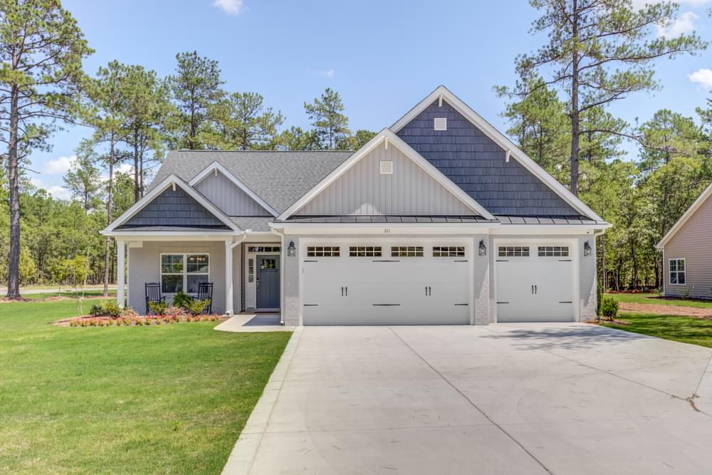 2,322sf New Home in Carthage, NC Elevation B