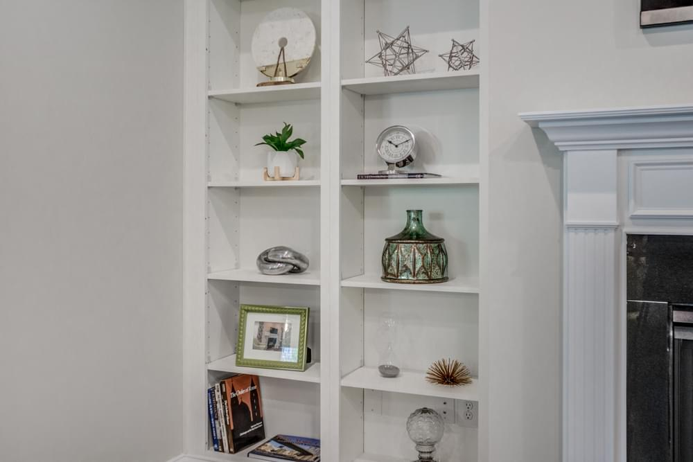 3br New Home in Carthage, NC Built-In Shelves