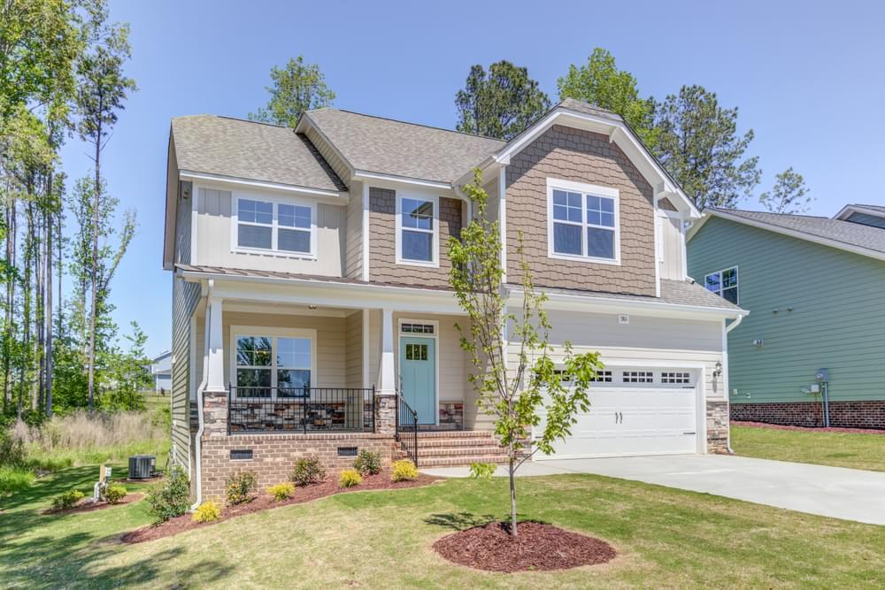 4br New Home in Wilmington, NC Elevation E