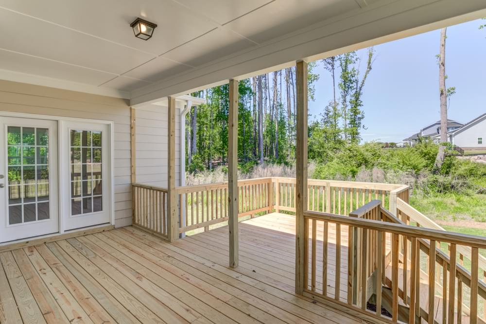 4br New Home in Wilmington, NC Covered Porch with Patio Option