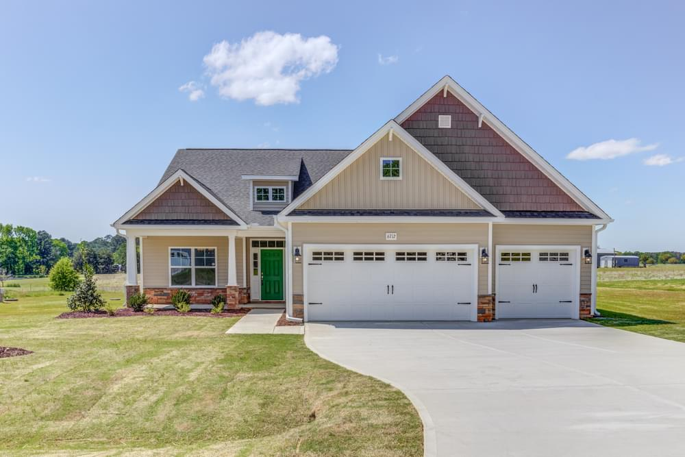 Liberty New Home in Carthage, NC Elevation C