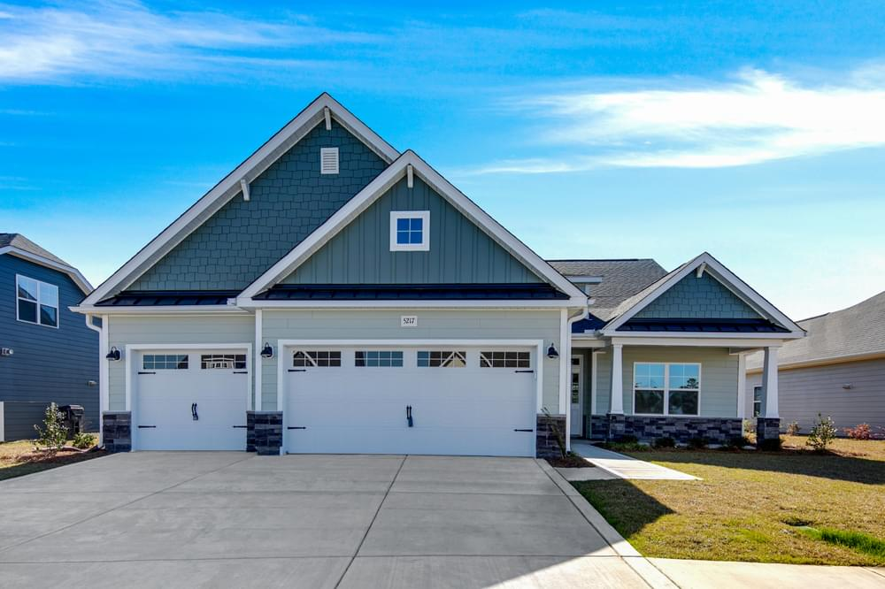 3br New Home in Carthage, NC Elevation C