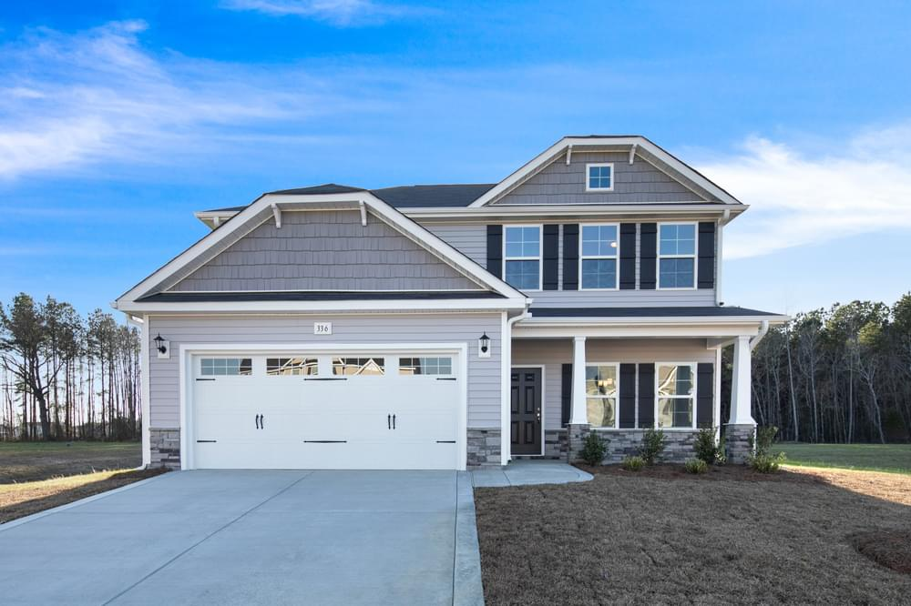 Winterville, NC New Home Elevation C
