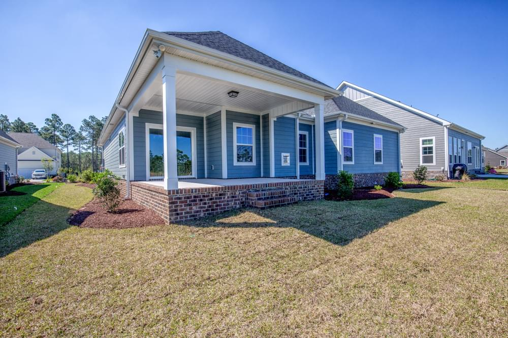 Carthage, NC New Home Covered Porch Option
