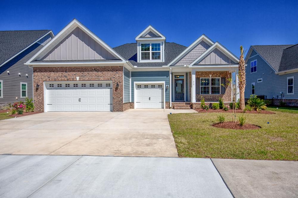 Newton New Home in Carthage, NC Elevation IB