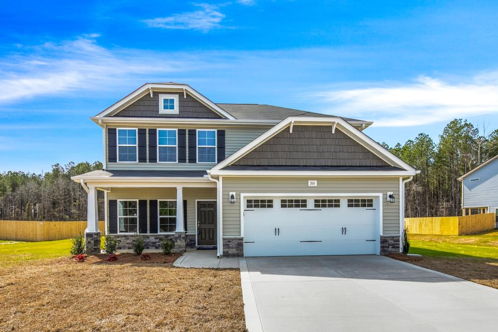 3br New Home in Wilmington, NC Elevation C