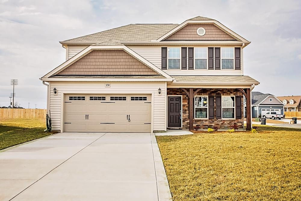 Meadowbrook New Home in Winterville, NC Elevation B