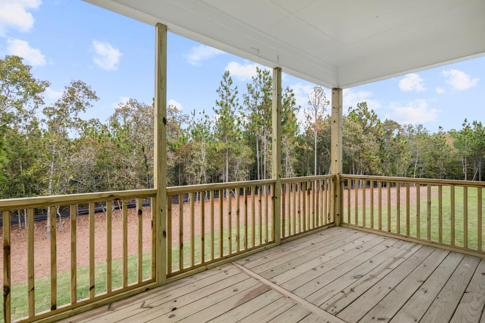 Wilmington, NC New Home Covered Porch Option