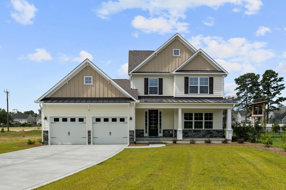 2,927sf New Home in Wilmington, NC Elevation TW