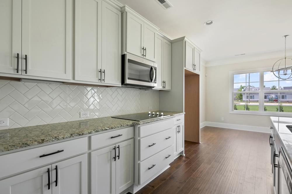 Page New Home in Wilmington, NC Gourmet Kitchen Option