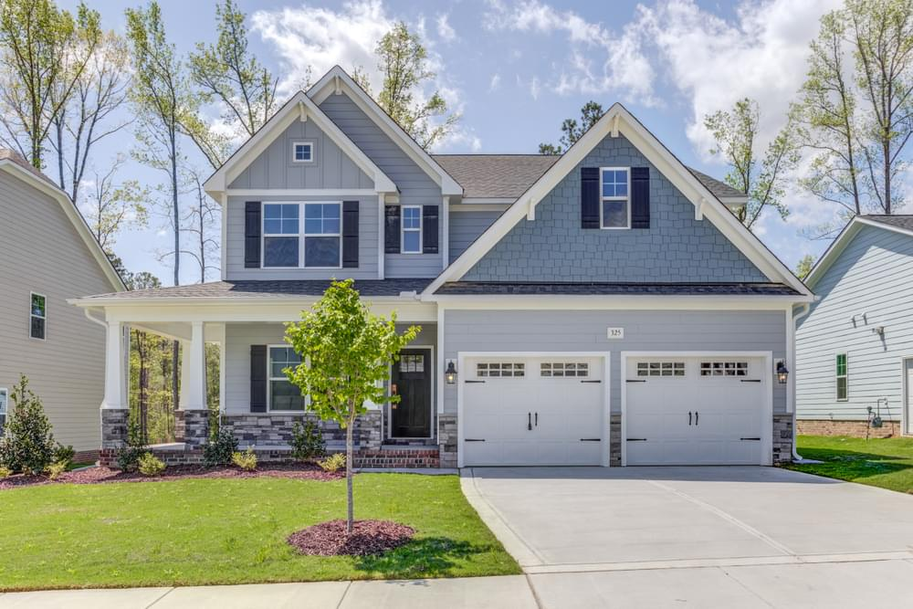 4br New Home in Rocky Point, NC Elevation KS