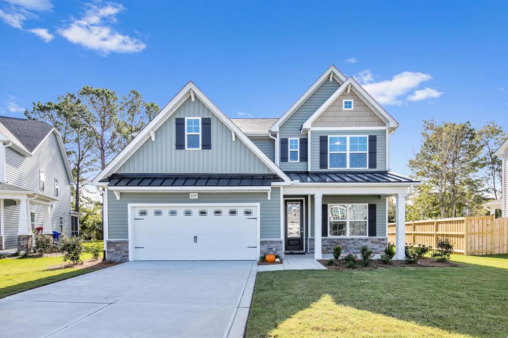 New Home in Carthage, NC Elevation TW
