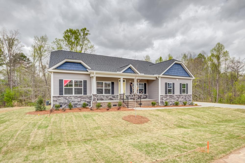 3,107sf New Home in Hope Mills, NC Elevation C