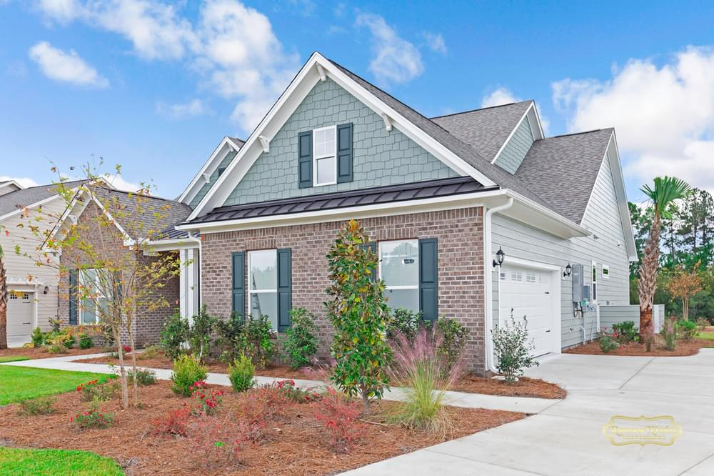 3br New Home in Carthage, NC Side Load Garage Option