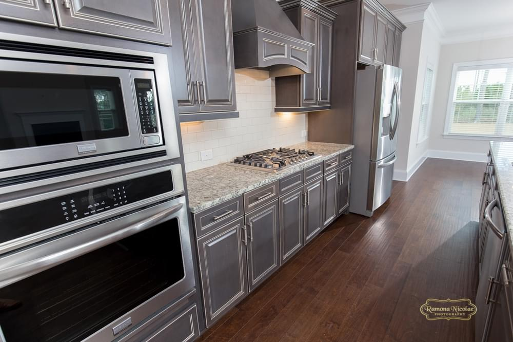 Calabash New Home in Carthage, NC Gourmet Kitchen Option