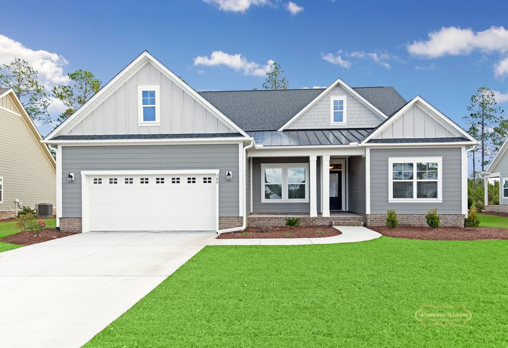 Calabash New Home in Carthage, NC Coastal Elevation
